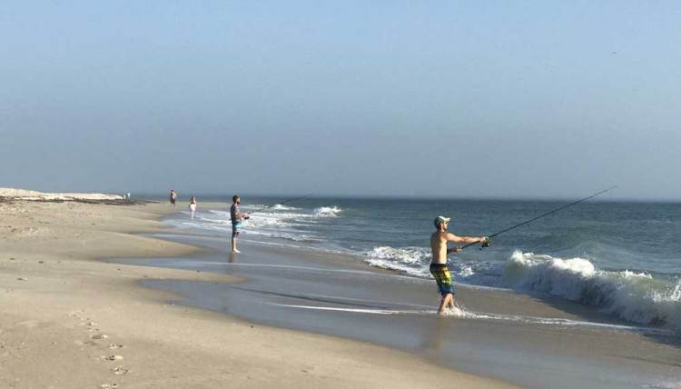 The beautiful beaches in Vero Beach are popular with fishermen. (Photo: Bonnie Gross)