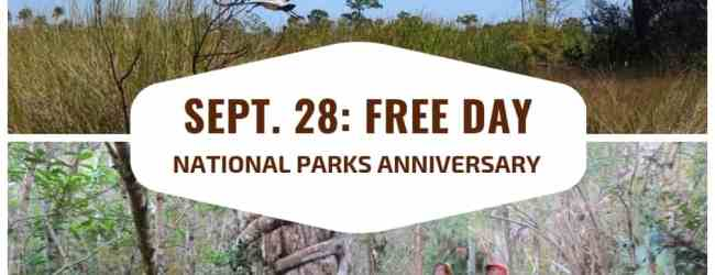 2019 free days in national & state parks