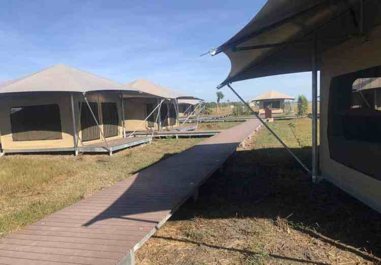 Eco-tents in Flamingo at Everglades National Park
