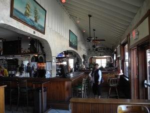 "Comfortable ""old world"" interior greats you inside the Sebastian Beach Inn."