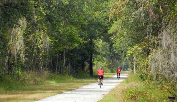 Gainesville-HawthorneTrail is one of the state's best bike trails