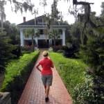 This is Old Florida: The Herlong Mansion was built in Micanopy, Florida, in 1845. Today it is a B&B.