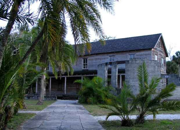 Koreshan Founder's Hall in Estero Florida by Mwanner