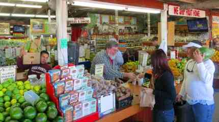 There is a Robert and he is there. That's founder Robert Moehling waiting on customers, as he does every day.