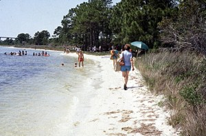 Beach at Big Lagoon State Park