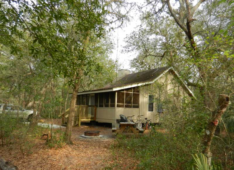 Cabin at Blue Spring State Park near Orlando & Best natural camping near Daytona Beach | Florida Rambler