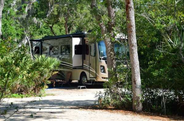 RV campground in St. Augustine from Canstock