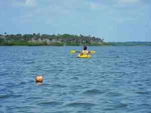 Paddling Indian River Lagoon from Eldora