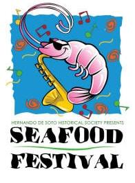 Desoto Seafood Festival logo