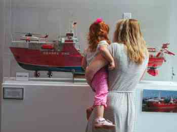 The Elliott Museum merged with the the Maritime & Classic Boat Museum of Jensen Beach, and thus the collection of nautical items here is impressive.