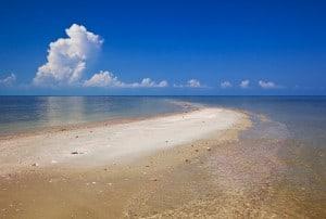 Sandbar off Jewel Key (Photo by Angie Chestnut)