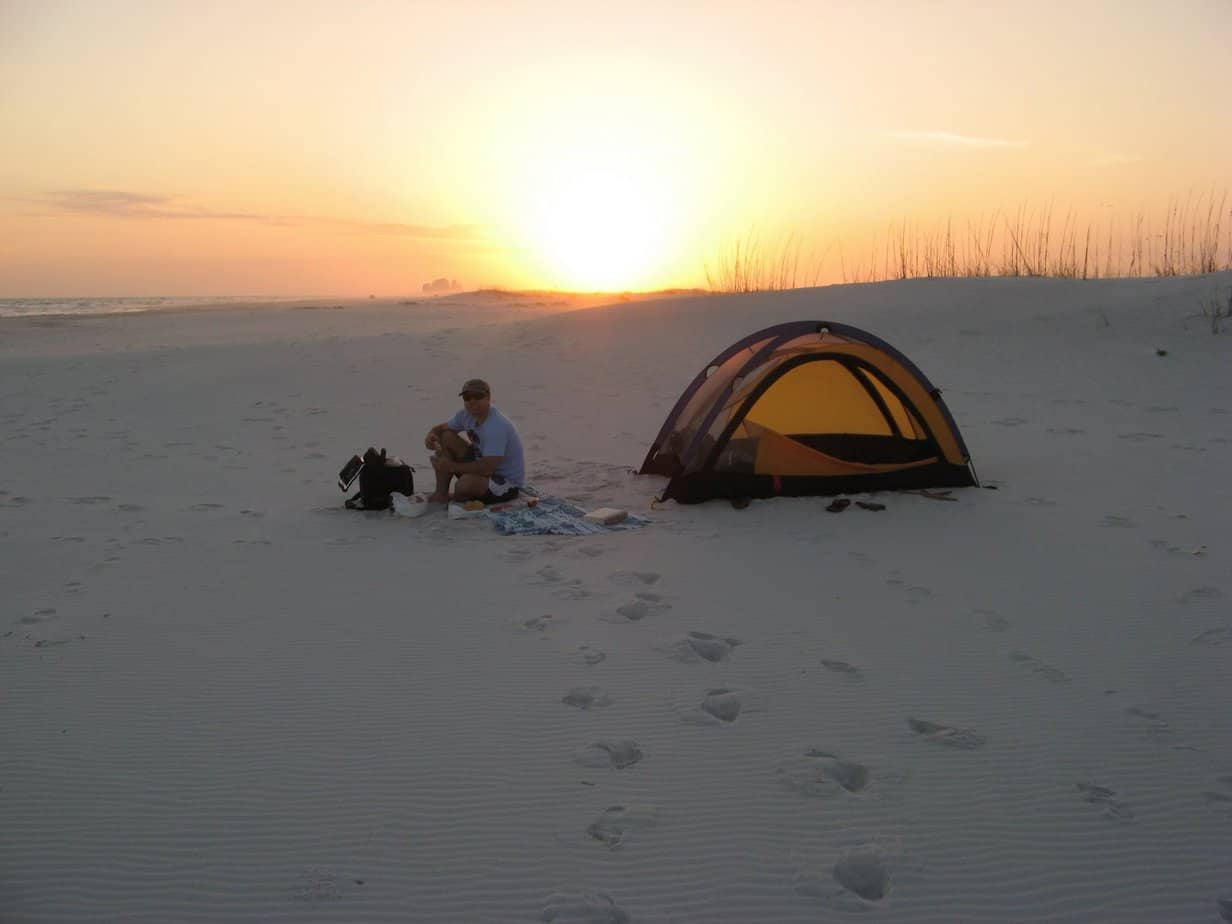 reputable site 8a310 8ffdd Best Beach Camping in Florida's Panhandle | Florida Rambler