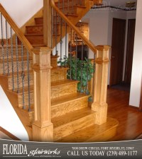 Red Oak Stairways and Staircases in Cape Coral