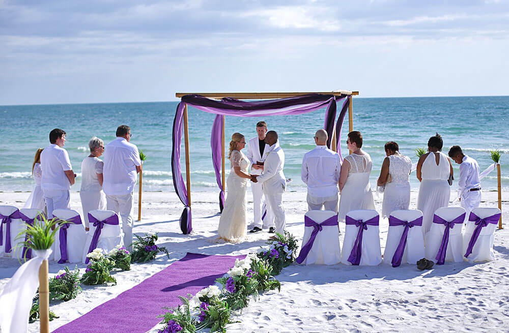 1 Ocean Waves Florida Beach Wedding Siesta