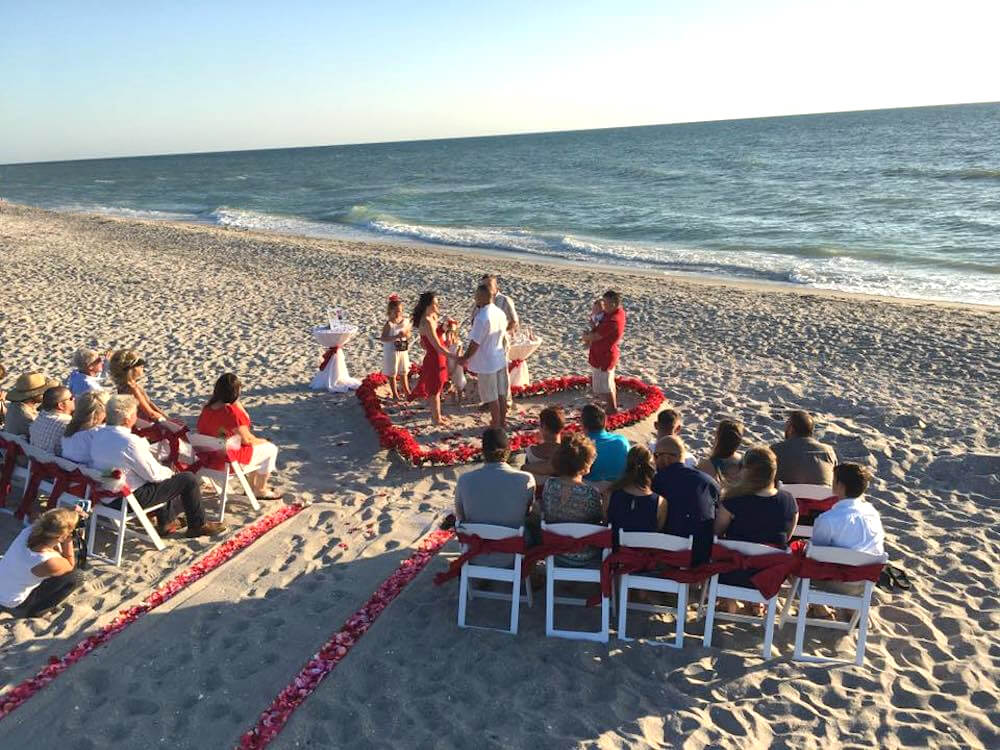 15 Heart Of Love Florida Beach Wedding Siesta