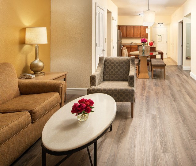 Living Room Of One Of Our Two Bedroom Suites In Orlando