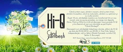 Invitatie oficiala Hi-Q