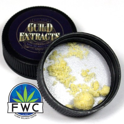 Guild Extracts Sour Diesel THC-A Crystalline