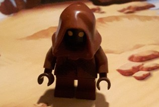 Later in the calendar, the Jawa gets an ion blaster.