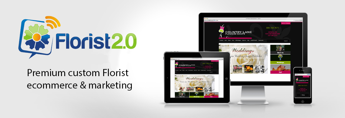 Florist 2.0 Premium custom ecommerce websites