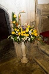 Decoración Floral para Bautizos