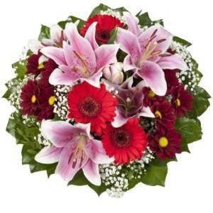 Blumen zur Jugendweihe