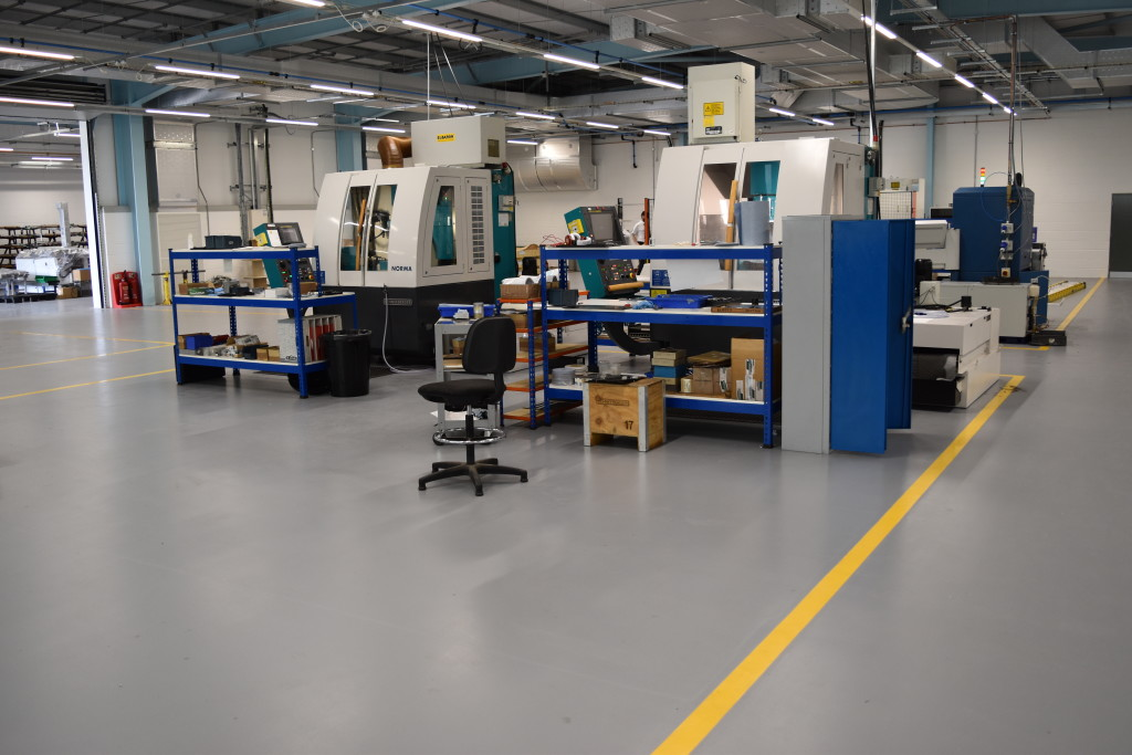 Four Concrete Epoxy Solutions for General Service Floors