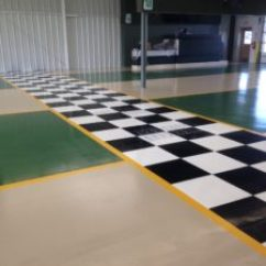 Commercial Kitchen Flooring Epoxy Unfinished Cabinet Choosing An Auto Shop Floor Coating System That Lasts ...