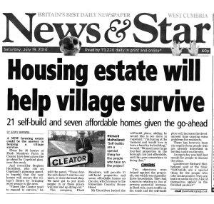Press article Saturday 19 July 2014 web