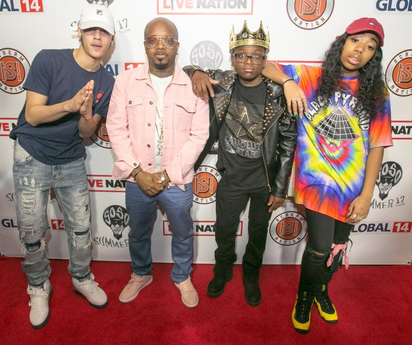 Nova_ JD_ King Roscoe_ Deetranada 03.22.17 SoSo Summer 17 Tour Press conference Top Golf Atlanta 010 135th ST Agency photo by Chris Mitch-CME3000