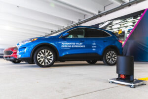 Autonomous parking system from Ford and Bosch in Detroit