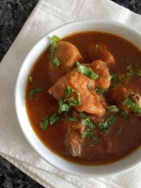 Chicken Curry w Tomatoes
