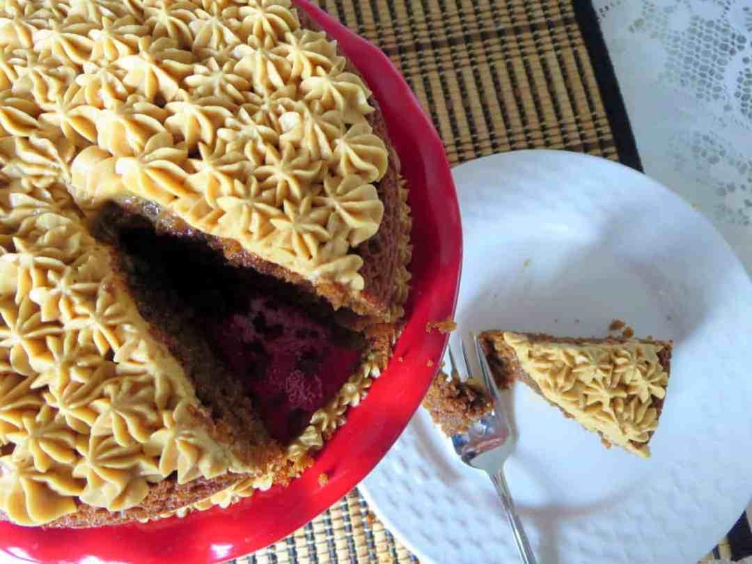 Coffee Flavored Cake w Coffee Buttercream