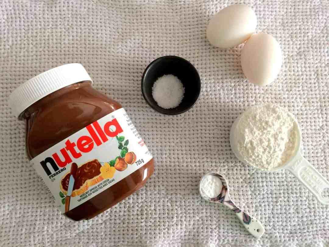 5-Ingredient NutellaBrownies