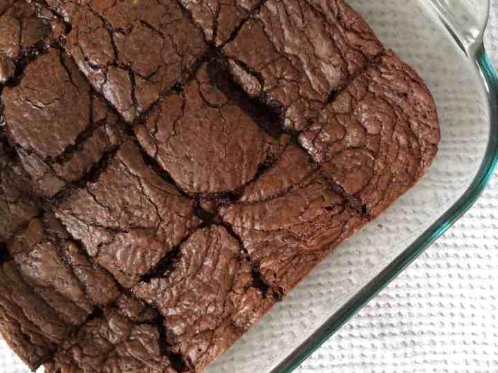 5 Ingredient Nutella Brownies