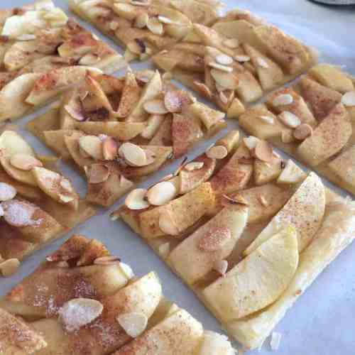 Quick Easy Delicious Puff Pastry Apple Tart