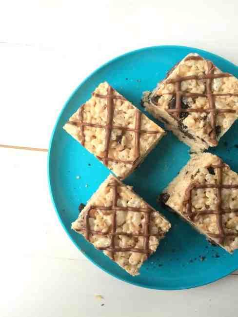 A Small(er) batch of Oreo Rice Krispie Treats