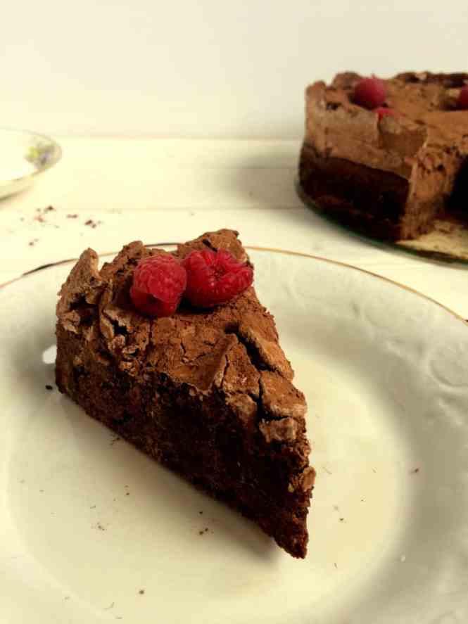 chocolate meringue cake donna hays