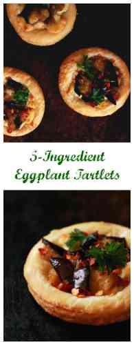 eggplant tartlets