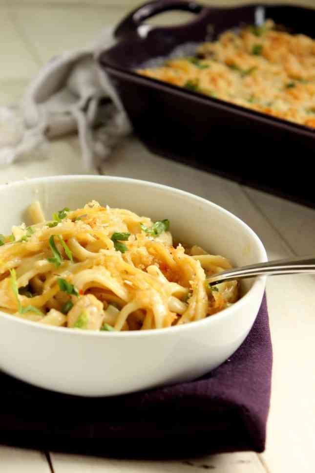 chicken tetrazzini for four