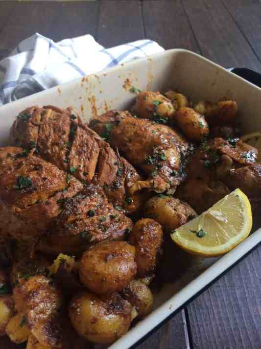 Instant Pot Tandoori Roast Chicken