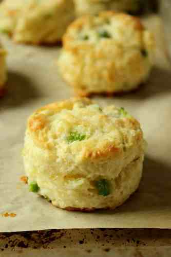 Cheesy Jalapeno Biscuits