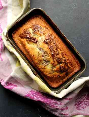 marble cake with oil