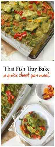 Thai Fish Tray Bake