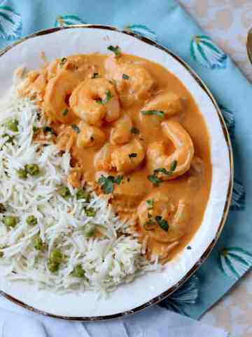 15 Minute Shrimp and Coconut Milk Curry