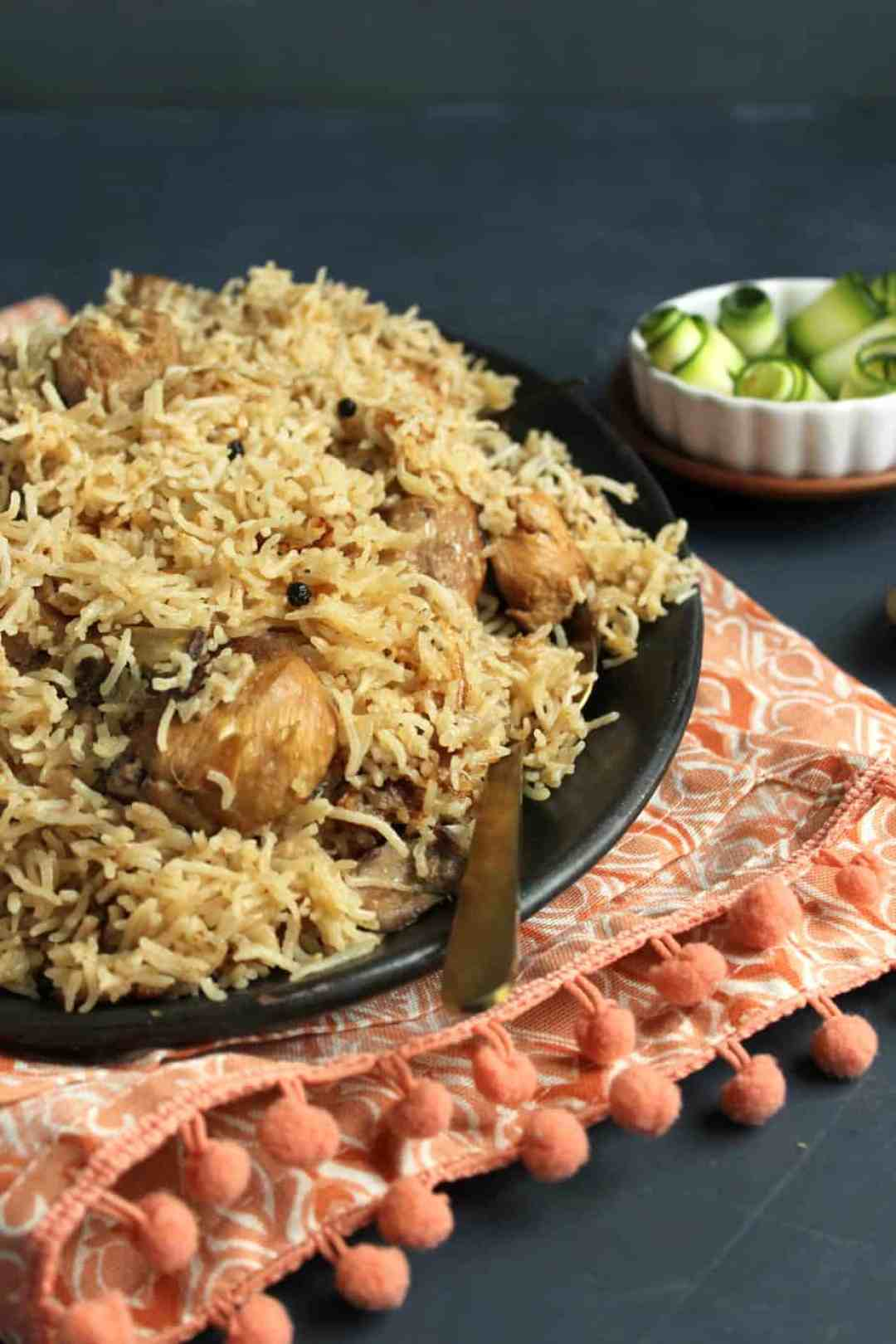Hyderabadi Chicken Pulao