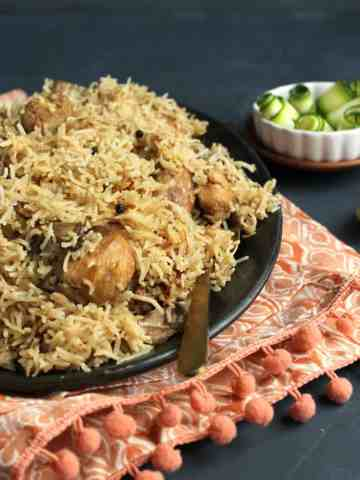 Hyderabadi Chicken Pulao