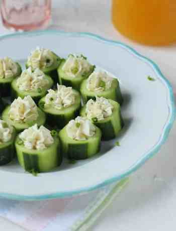 Cucumber Cream Cheese Rounds