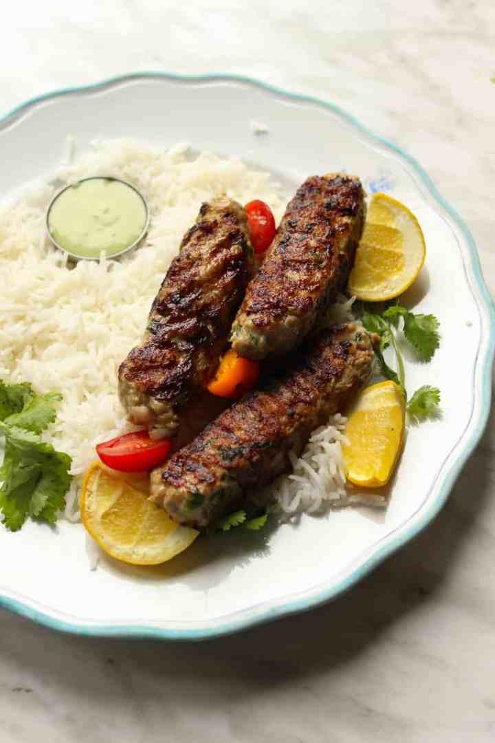 Pakistani Chicken Kababs