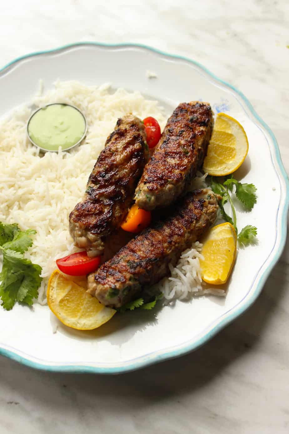 Pakistani Chicken Kababs
